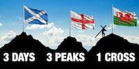 THREE PEAKS CHALLENGE CARRYING A CROSS