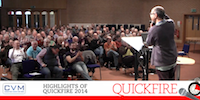 WATCH HIGHLIGHTS FROM LAST YEARS' QUICKFIRE
