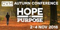 BREAKING NEWS! CVM AUTUMN CONFERENCE 2018