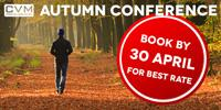 CVM AUTUMN CONFERENCE - DISCOUNT ENDING